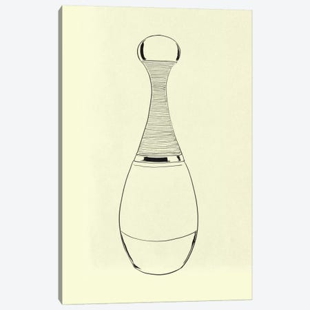 Pesco Perfumo Minimalist Line Art Canvas Print #ICA770} by 5by5collective Canvas Wall Art