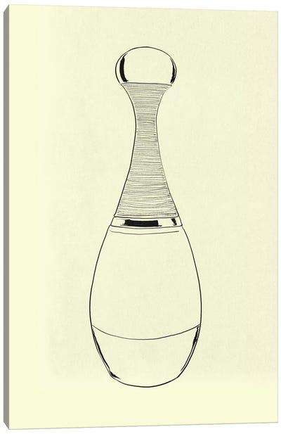 Pesco Perfumo Minimalist Line Art Canvas Art Print