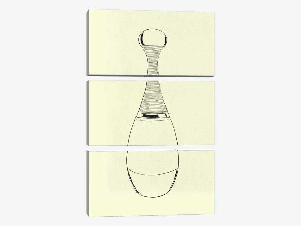 Pesco Perfumo Minimalist Line Art by 5by5collective 3-piece Canvas Art