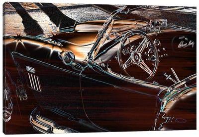 Chrome Sting Ray Canvas Art Print