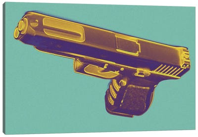 Tropics and Guns Canvas Art Print