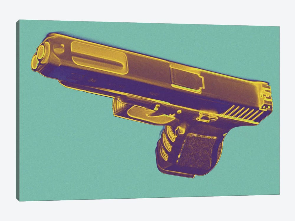 Tropics and Guns by 5by5collective 1-piece Art Print