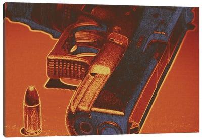 Red Steel Canvas Art Print