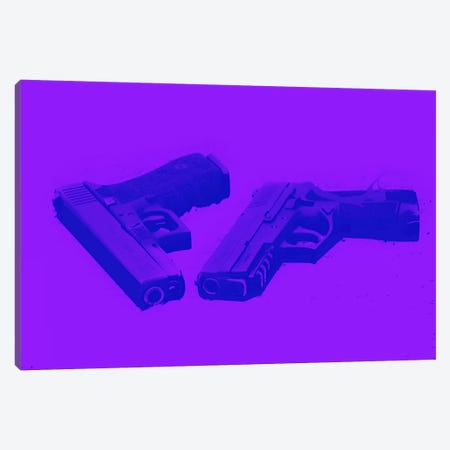 Bang Bang Canvas Print #ICA805} by 5by5collective Canvas Print