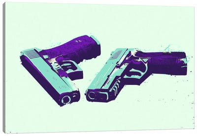Bang Bang #2 Canvas Art Print