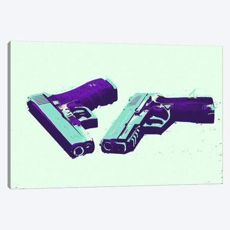 Bang Bang #2 Canvas Print #ICA806} by 5by5collective Canvas Print