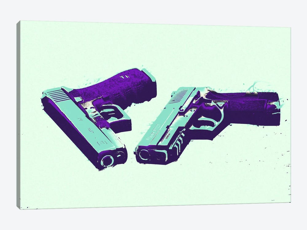 Bang Bang #2 by 5by5collective 1-piece Canvas Print