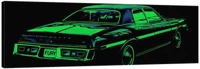 Caddy Fury Canvas Art Print