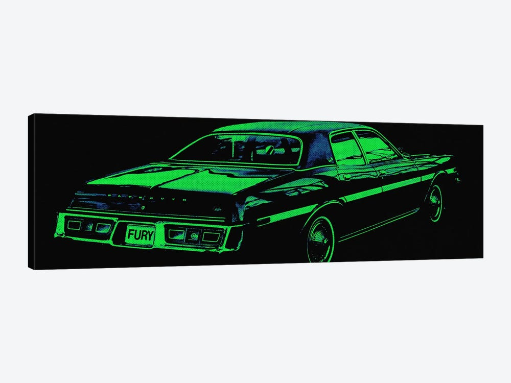 Caddy Fury by 5by5collective 1-piece Canvas Art Print