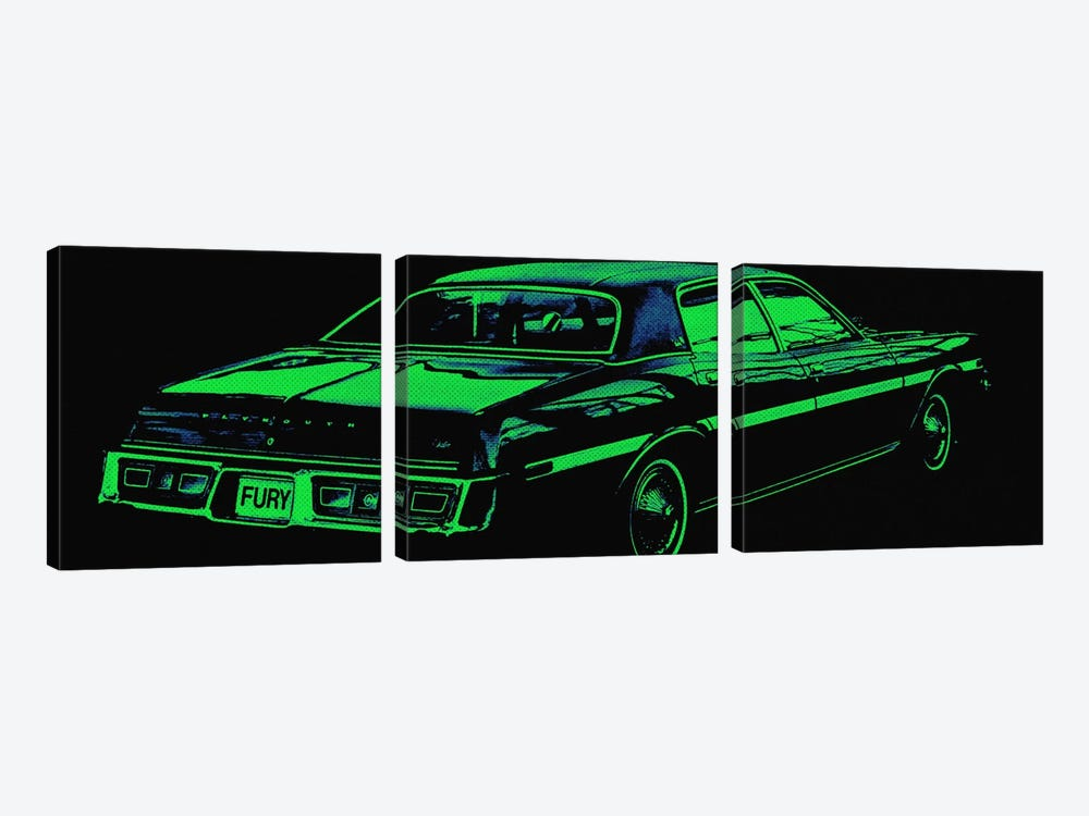 Caddy Fury by 5by5collective 3-piece Art Print