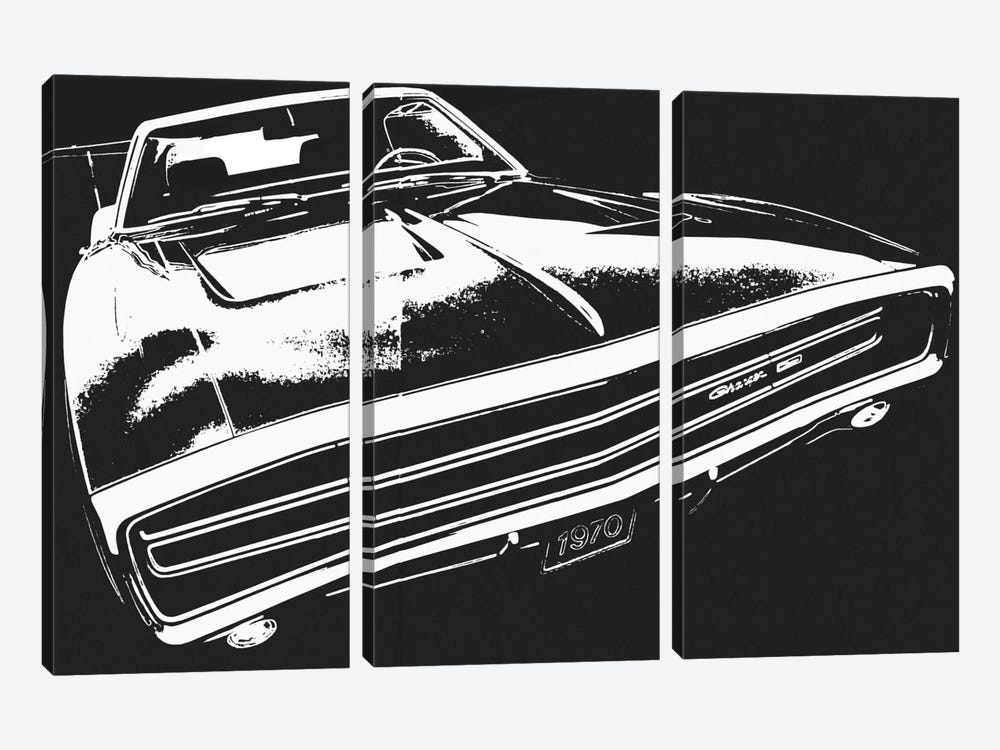 Pure Muscle by 5by5collective 3-piece Art Print