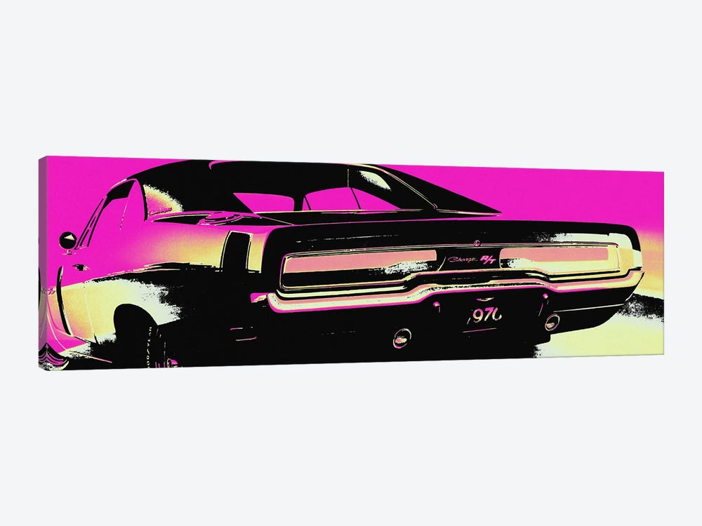 American Muscle Vice by 5by5collective 1-piece Canvas Art Print