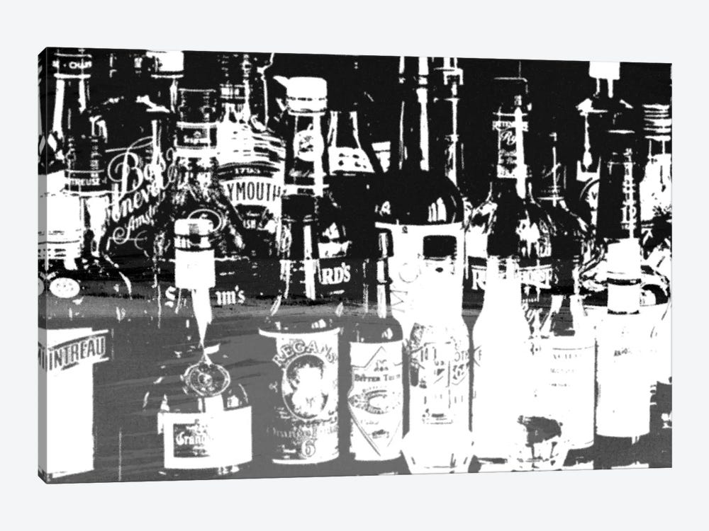 Top Shelf by 5by5collective 1-piece Canvas Wall Art