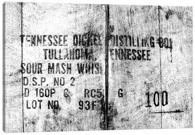 Tennessee Whiskey Barrels Canvas Art Print
