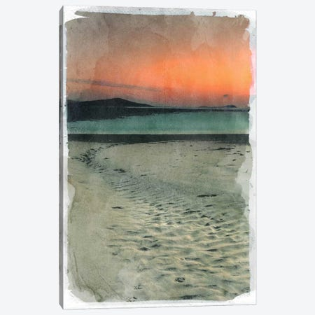 Sunset Beach Canvas Print #ICA843} by 5by5collective Canvas Artwork