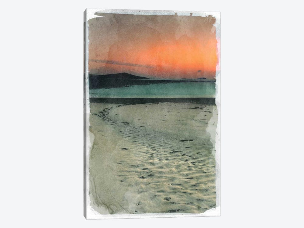 Sunset Beach by 5by5collective 1-piece Canvas Art