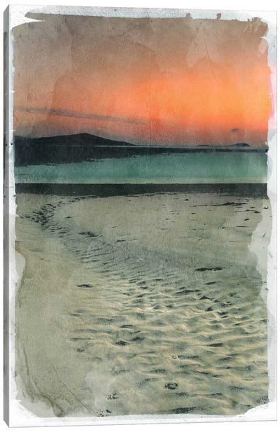 Sunset Beach Canvas Art Print