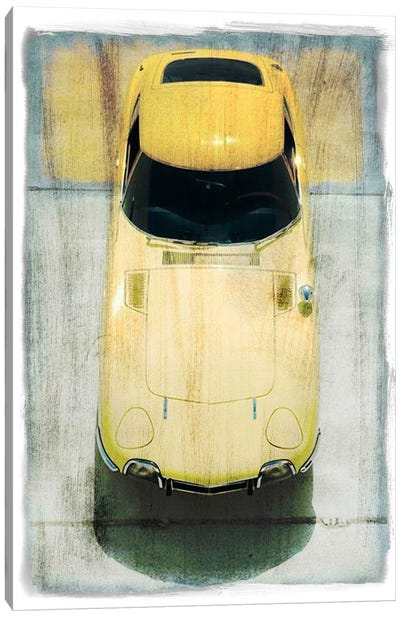 Prowling the Asphalt #2 Canvas Art Print