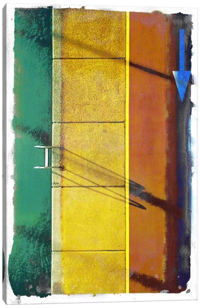 Poolside Runner Canvas Art Print
