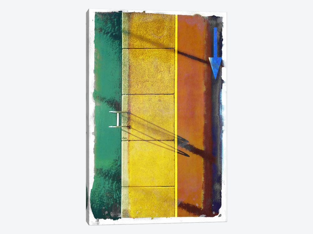 Poolside Runner by 5by5collective 1-piece Canvas Art Print