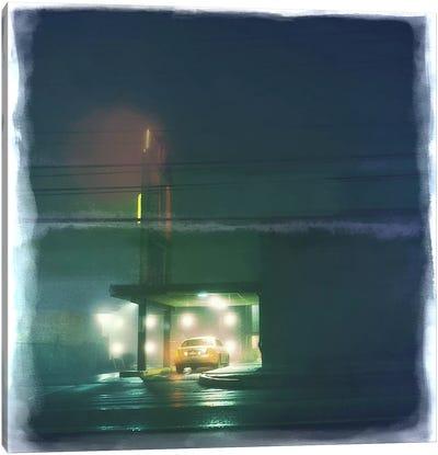Late Night Stop Canvas Art Print