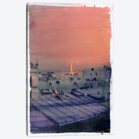 Paris in the Distance Canvas Print #ICA849} by 5by5collective Canvas Art