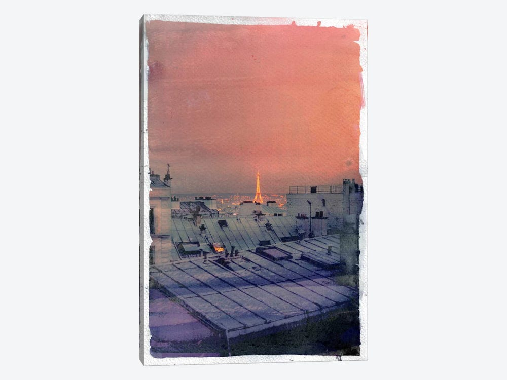 Paris in the Distance by 5by5collective 1-piece Canvas Artwork