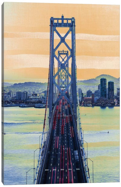 Bridge to the City Canvas Art Print