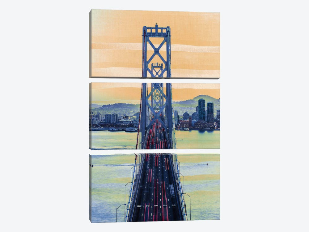 Bridge to the City 3-piece Canvas Wall Art
