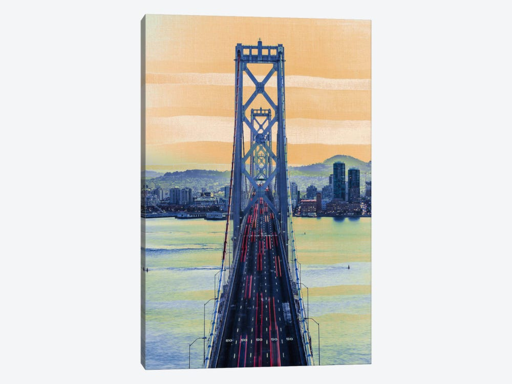 Bridge to the City by 5by5collective 1-piece Canvas Art