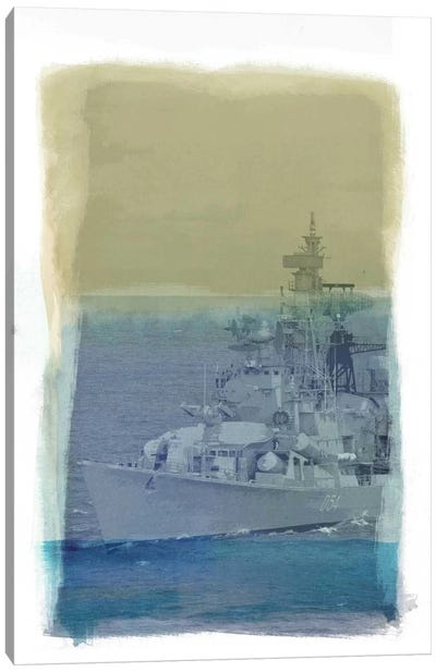 Wrangle the Seas Canvas Print #ICA851