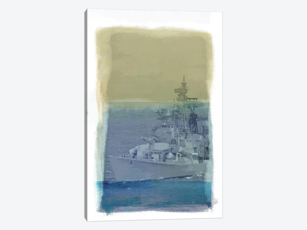 Wrangle the Seas by 5by5collective 1-piece Canvas Art Print