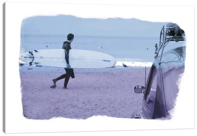 Check the Surf Canvas Art Print