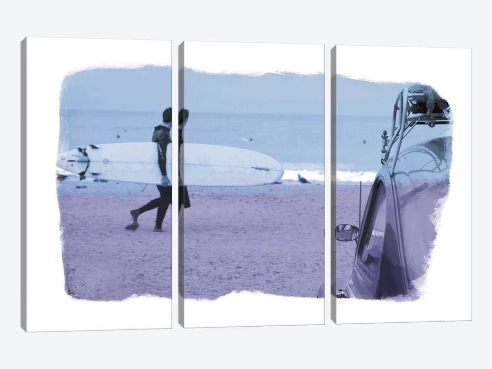Check the Surf by 5by5collective 3-piece Canvas Artwork