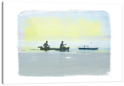 Rowing in the Deep Canvas Art Print