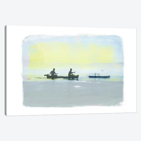 Rowing in the Deep Canvas Print #ICA853} by 5by5collective Canvas Print