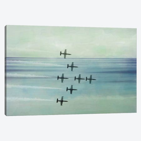Pack Flight Canvas Print #ICA854} by 5by5collective Canvas Art