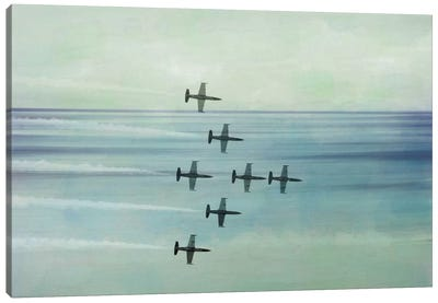 Pack Flight Canvas Art Print