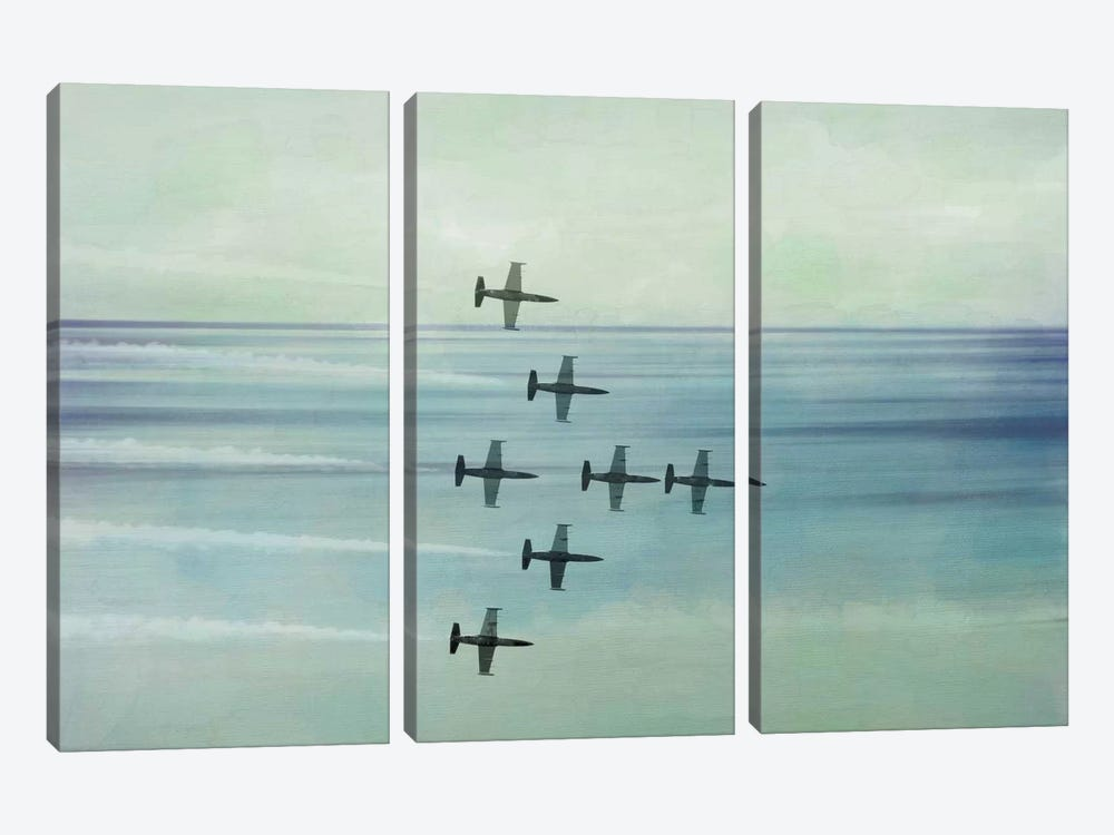 Pack Flight by 5by5collective 3-piece Canvas Art