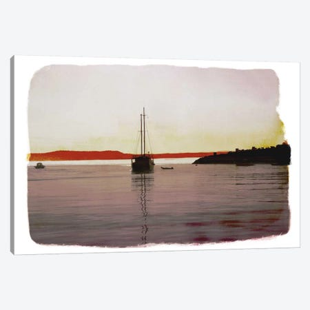 Sailing Back Canvas Print #ICA855} by 5by5collective Canvas Art