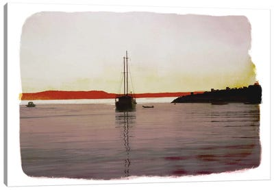 Sailing Back Canvas Art Print