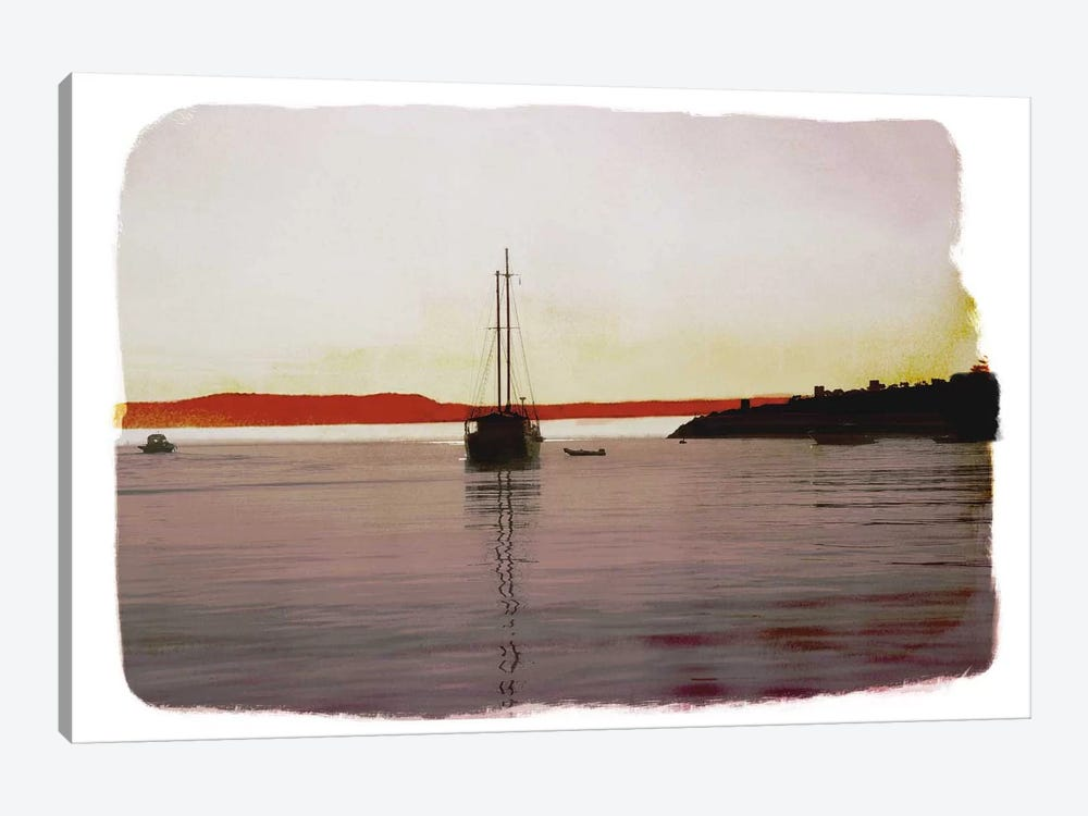 Sailing Back by 5by5collective 1-piece Canvas Print