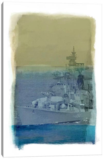 Wrangle the Seas #2 Canvas Art Print