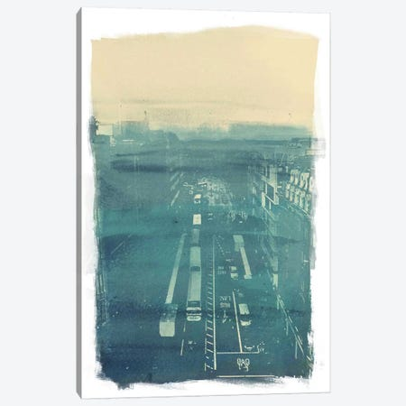 The Town Canvas Print #ICA860} by 5by5collective Canvas Wall Art