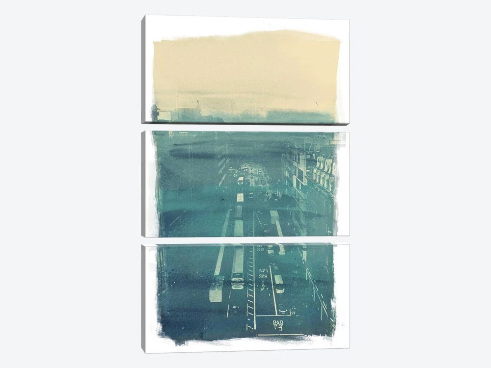 The Town by 5by5collective 3-piece Canvas Print