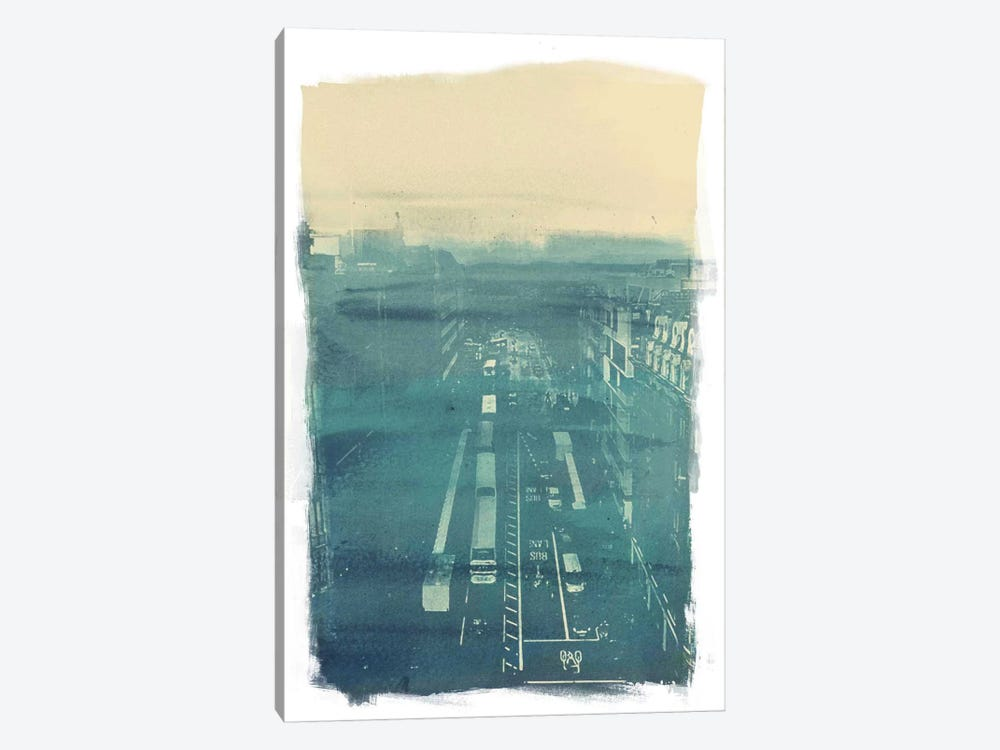 The Town by 5by5collective 1-piece Canvas Print
