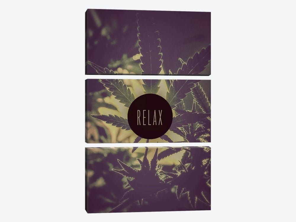 Relax by iCanvas 3-piece Canvas Wall Art