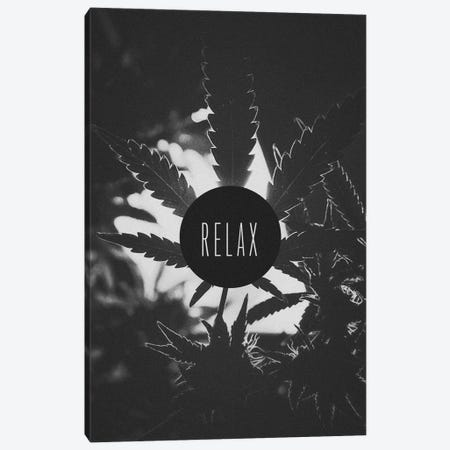 Relax (B&W) Canvas Print #ICA862} by Unknown Artist Canvas Artwork