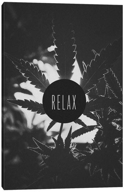 Relax (B&W) Canvas Print #ICA862