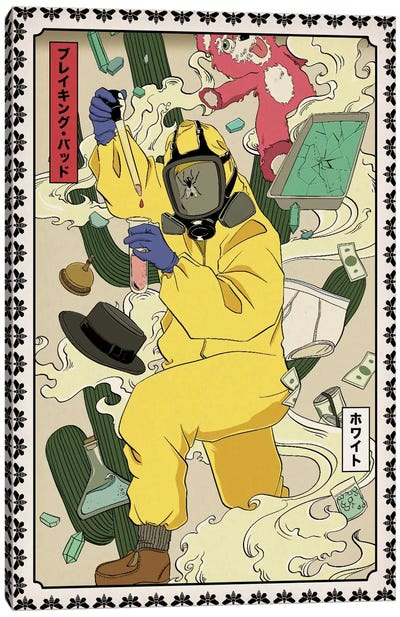 Money, Flies, and Drugs #5 Canvas Art Print